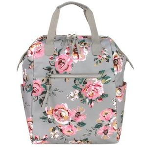 Baby Essentials | Floral Diaper Bag+Backpa…